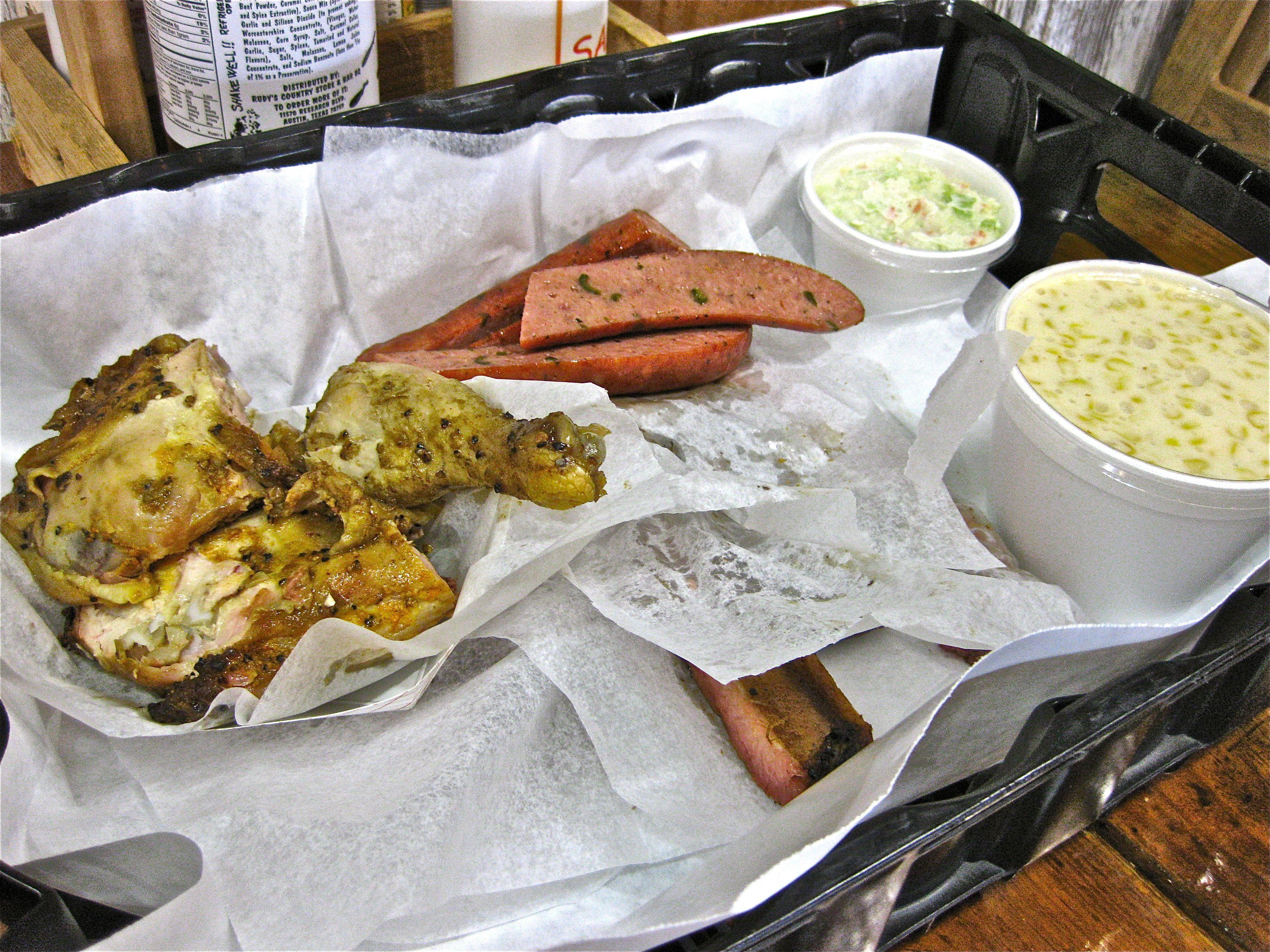 Paper Texas Butcher Sausage