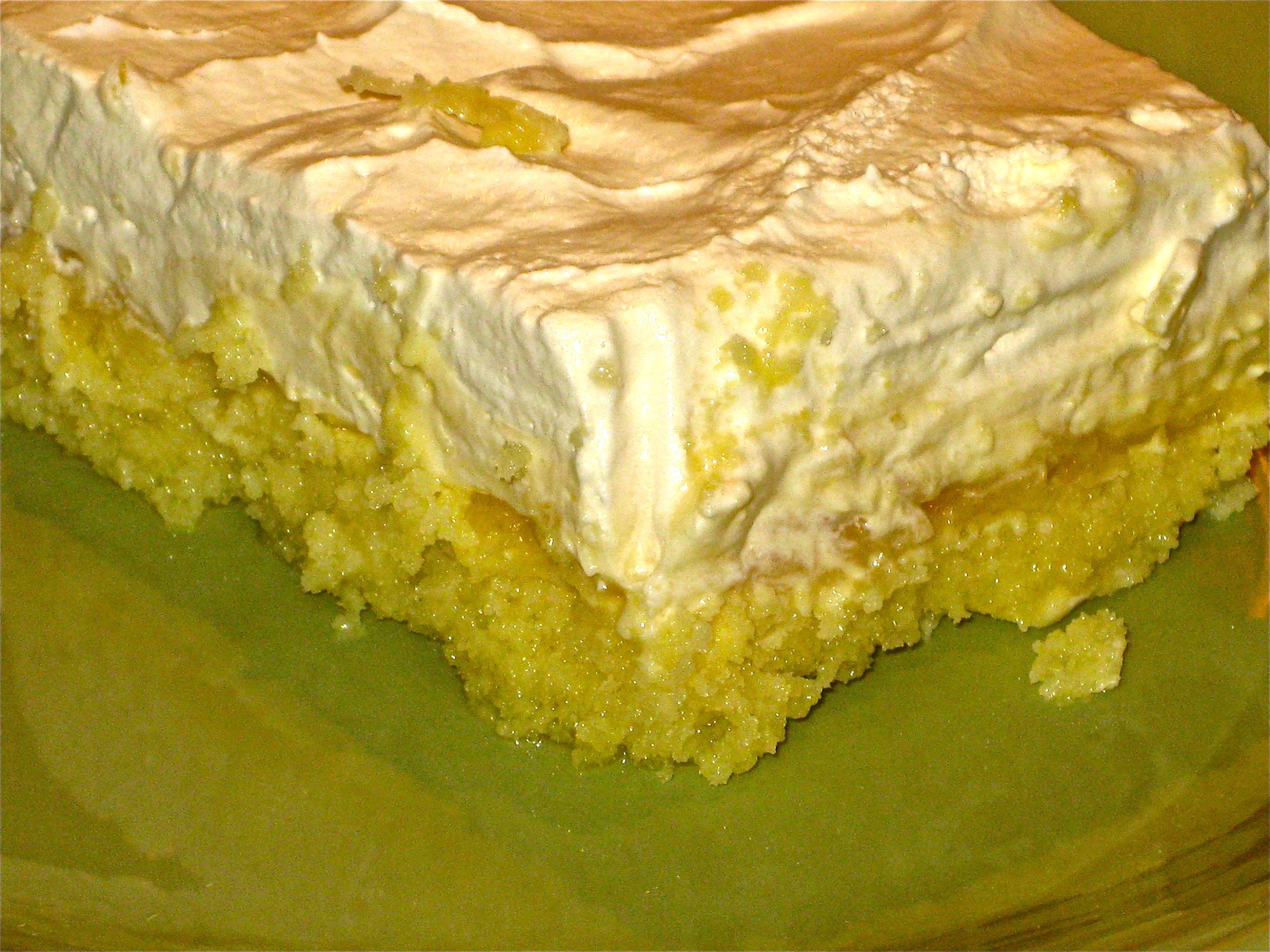 Pineapple Cake Big Apple Bites